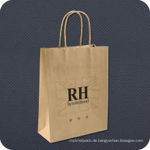 Einzelhandel Kraftpapier Einkaufstasche