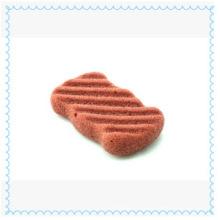 Натуральная очищающая косметическая губка с конжаком