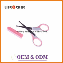 Baby Care Product BPA Free Plastic Baby Nail Scissors