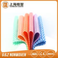 вискоза вискоза ткань для очистки /салфетки спанлейс нетканого материала 55gsm