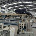 Maquinaria de tejer de doble bomba Shuttleless Waterjet Power Loom