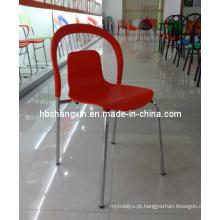 Venda quente nova cadeira plástica Popular de alta qualidade de Design