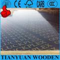 Panel de encofrado de hormigón, madera contrachapada de 12 mm resistente al agua