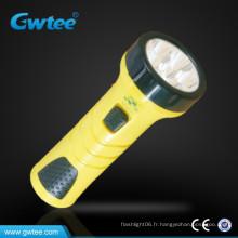 Fabriqué en Chine usine super brillant mini led lampe torche rechargeable