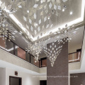 Simple customized chandelier pendant light
