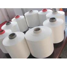 China fabricante poliéster anel fiado tricô fio