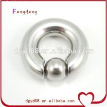 nariz de acero inoxidable piercing anillo de la nariz de la joyería del cuerpo al por mayor
