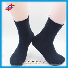 custom sock business bulk casual terry cloth men's sock