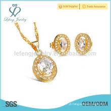 Cobre pingente colar, cubano link ouro cadeia mulheres
