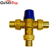 Válvulas de mistura da água de bronze sem chumbo do Gutentop para o sistema de água fria e quente