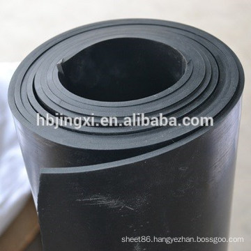 Soft and Elastic rubber sheet roll in 100m continous length