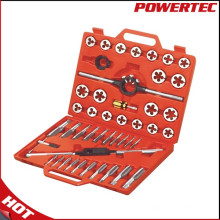 Powertec 45PCS Metric Threading Tornillo y grifo conjunto