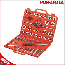 Powertec 45PCS Metric Threading Screw Tap and Die Set