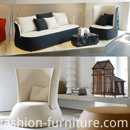 Fat Fabric Sofa