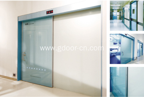 Automatic Sliding Hermetic Door for Hospital