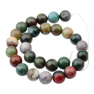 14MM Loose natural Fancy Jasper Round Beads for Making jewelry