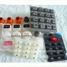 Silicone Rubber Epoxy Coating Keypad for Electronics