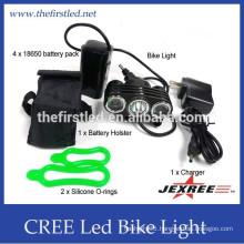 China Supplier Multi-Function High Power Max Brightness 1800Lumens 1xCREE XM-L2+2xXP-E led bike lights custom