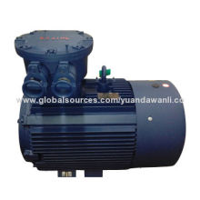 Explosion-proof 3-phase induction motor, lightweight