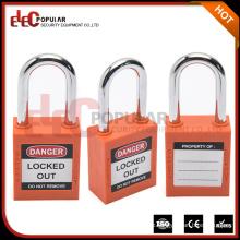 Elecpopular Gute Qualität Sicherheitsschloss Keyed Alike ABS Staubdichtes Vorhängeschloss mit kurzem Schäkel