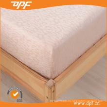 100% Jacquard de algodón egipcio equipado hoja (DPF201509)
