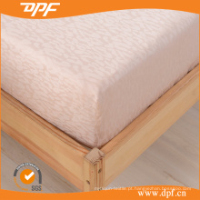 100% Jacquard de algodão egípcio cabido folha (DPF201509)