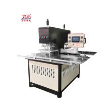3d embossed fabric oil heating prseeing machine