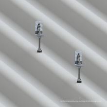 Дешевые панели солнечных батарей система крепления Асбестовой плитки крыши Л ноги решение