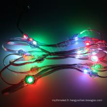 Faisceau de LED rond programmable orientable