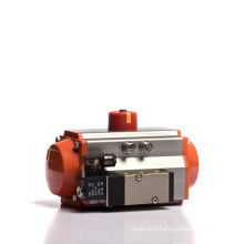 AT-50D double acting ball valve butterfly valve small pneumatic actuator