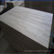 Conseil mixte de frêne pour meubles