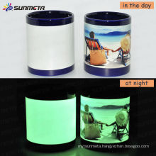 Sunmeta 11oz Sublimation Magic Luminous Mug At Low Price Wholsale