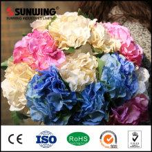 Italien Rose Bouquet 8 cm Durchmesser Künstliche Blumenarrangements Für Home Hotel Office hochzeit Dekoration