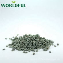 China supply natural zeolite rock, green natural zeolite for water soften treatment