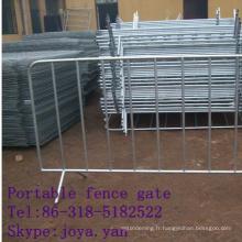 Porte de clôture portative