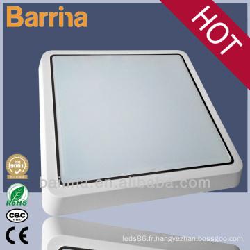 lumières de 10W 14w 16w conduit plafond étanche pour salle de bain