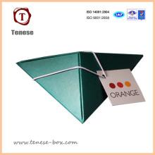 Caja de papel de regalo de embalaje personalizada para Candy / Chocolate