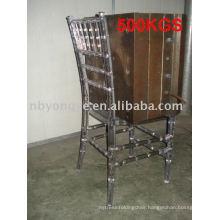clear banquet chair