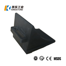 Factory Price 210*160*158.8mm Car Rubber Wheel Chock