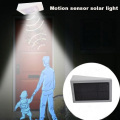4W Solar LED Microwave Sensor Garden Light