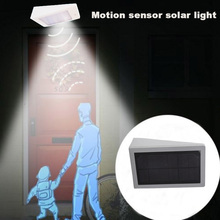 4W Solar LED Mikrovågssensor Garden Light