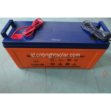High Efficency 12V 100AH ​​Solar Battery