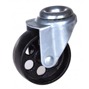 3'' hollow kingpin steel casters