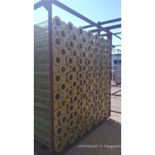 Cage galvanisée de filtre de zinc pour soutenir le sac de filtre