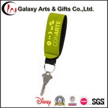 Pulseiras de Neoprene personalizado porta-chaves