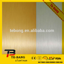 Blank heat transfer sublimation Aluminum sheet,Brush surface plate