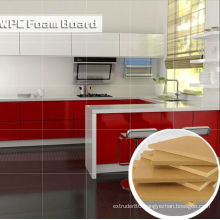 Waterproof and Envionmental WPC Foam Board for Kitchen Cabinet