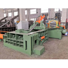 Machine de conditionnement en métal d'acier de fer en aluminium de ferraille de Push-out