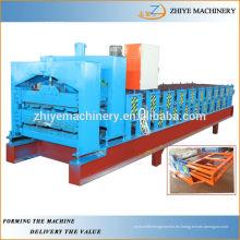 Máquina de laminado en frío de doble piso de acero de color hidráulico