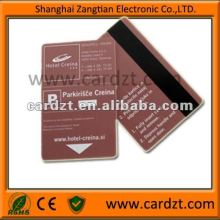 4 Color Offset Printing Plastic Magnetic Stripe Card
